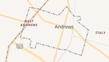 Andrews, South Carolina map