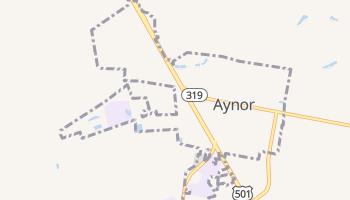 Aynor, South Carolina map