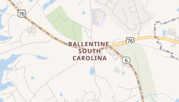 Ballentine, South Carolina map