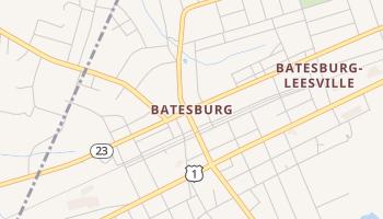 Batesburg, South Carolina map