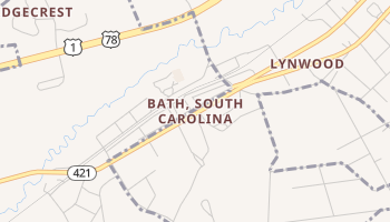 Bath, South Carolina map