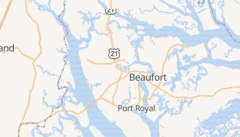 Beaufort, South Carolina map