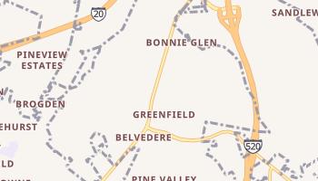 Belvedere, South Carolina map