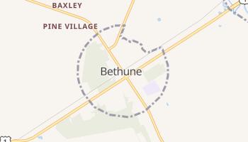 Bethune, South Carolina map