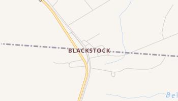 Blackstock, South Carolina map