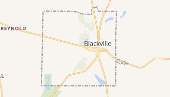 Blackville, South Carolina map