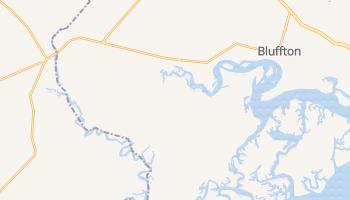 Bluffton, South Carolina map