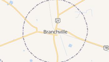 Branchville, South Carolina map