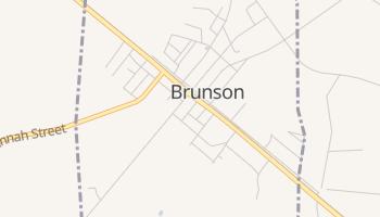 Brunson, South Carolina map
