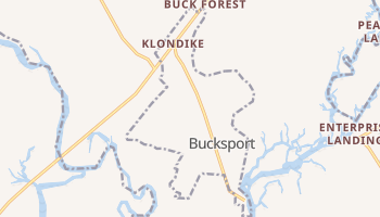 Bucksport, South Carolina map