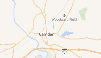 Camden, South Carolina map