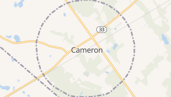 Cameron, South Carolina map