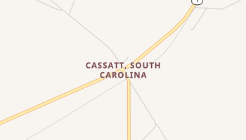 Cassatt, South Carolina map