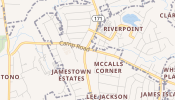 Centerville, South Carolina map
