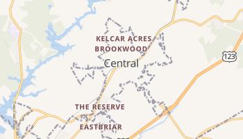 Central, South Carolina map