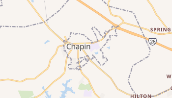 Chapin, South Carolina map