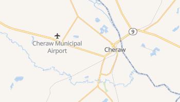 Cheraw, South Carolina map