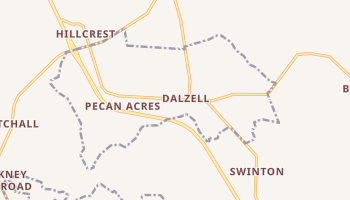 Dalzell, South Carolina map