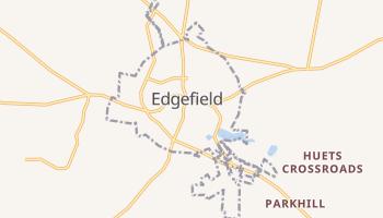 Edgefield, South Carolina map