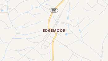 Edgemoor, South Carolina map
