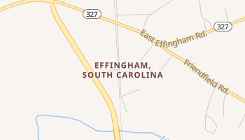 Effingham, South Carolina map