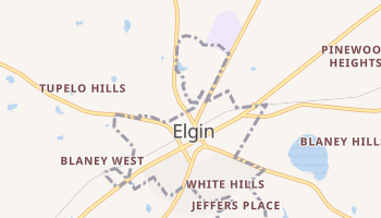 Elgin, South Carolina map