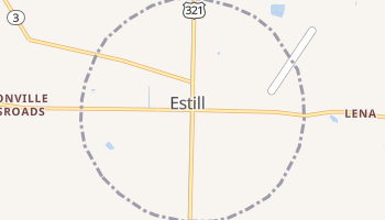 Estill, South Carolina map