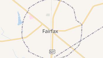 Fairfax, South Carolina map