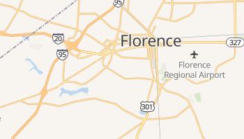 Florence, South Carolina map