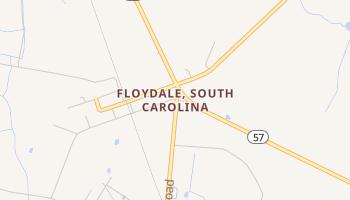 Floydale, South Carolina map