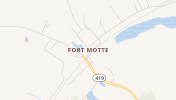 Fort Motte, South Carolina map