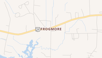 Frogmore, South Carolina map