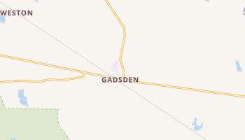 Gadsden, South Carolina map