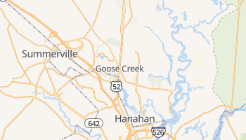 Goose Creek, South Carolina map