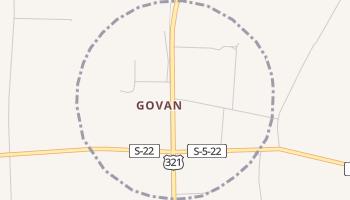 Govan, South Carolina map