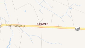 Graves, South Carolina map