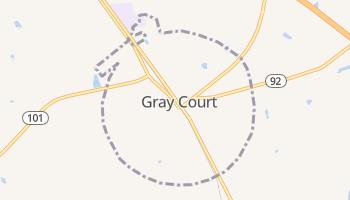 Gray Court, South Carolina map