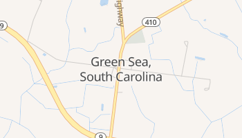 Green Sea, South Carolina map