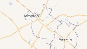 Hampton, South Carolina map