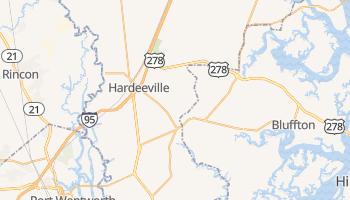 Hardeeville, South Carolina map
