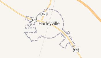 Harleyville, South Carolina map