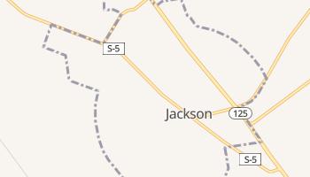 Jackson, South Carolina map