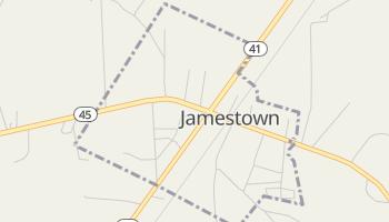Jamestown, South Carolina map