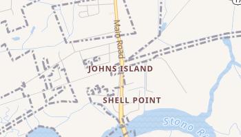 Johns Island, South Carolina map