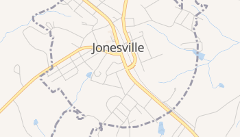 Jonesville, South Carolina map