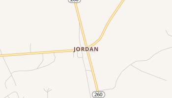 Jordan, South Carolina map