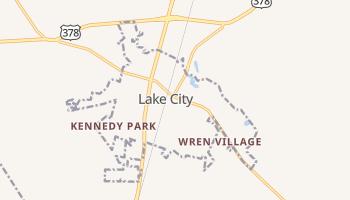 Lake City, South Carolina map