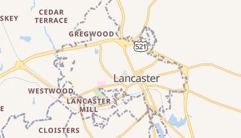 Lancaster, South Carolina map
