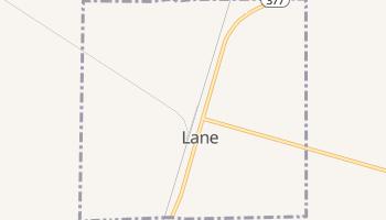 Lane, South Carolina map