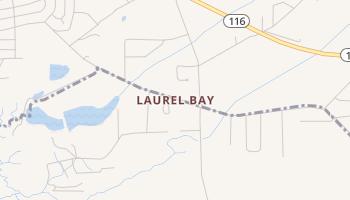 Laurel Bay, South Carolina map